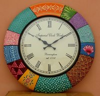 Hand Painted Wall Clocks