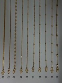 Stylish Gold Plated Chains