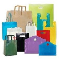 Printed Plastic Shopping Bag