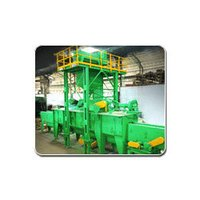 Leaf Spring Peening Machines