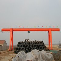 Single Girder Electric Hoist Gantry Crane