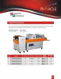 U.V. Coating Machine
