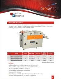 Digitec Uv Coating Machine