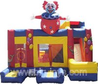 Clown Party Bounce Slide