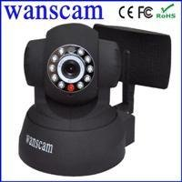 Indoor Wifi Mini Pan Tilt IP Camera With Antenna
