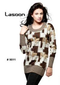 Ladies Fancy Designer Lasoon Tops