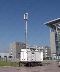 12.5m Pneumatic Telescopic Masts