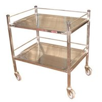 Metallic Hospital Trolleys