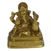 Brass God Ganesha Statues