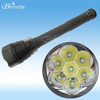 Rechargeable Torch 7 Cree LED B20S