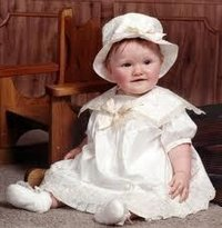 Knitted Baby Frock