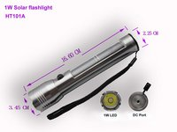 Solar Flashlight 1w Xsk-Ht101a