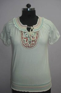 Designer Ladies Embroidery Tops