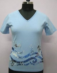 Designer Embroidery Ladies Half Tops