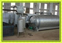 10 Ton No-Pollution Scarp Tyre And Plastic Pyrolysis Plant