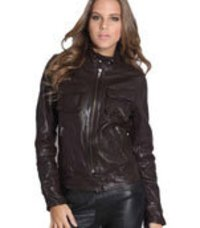 Short Ladies Leather Jackets
