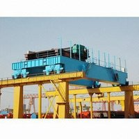 Hydropower Station Overhead Crane with Four Hooks (350 + 350)/(60 + 60)T