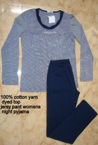 Womens Yarn Dyed Pajamas