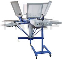 Textile Carousel Screen Printing Machine