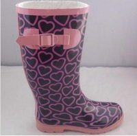 Ladies Rainboots With Strap