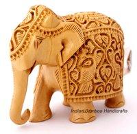 Wooden Royal Elephant Statues