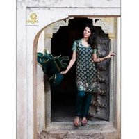 Ladies Chanderi Suits