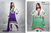 Ladies Embroidery Printed Suits