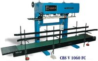 Heavy Duty Continuous Band Sealer Vertical Machine