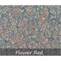 Flower Red Granite Tiles