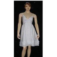 Ladies Cotton Mini Dress