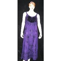 Printed Rayon Western Dresses