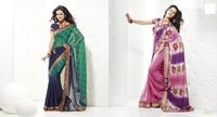 Fashionable Semi Casual Sarees