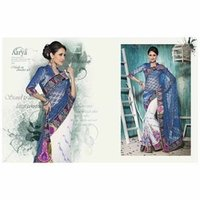 Bridal Net Saree