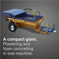 Screw Plastering Machine