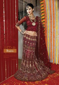Embroidered Wedding Lehenga