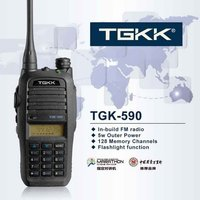 Vox Uhf Hand Free Walkie Talkie (Tgk590)