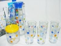 Glass Lemon Set