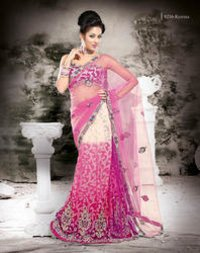 Crepe Designer Fancy Sarees