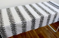 Zigzag Black Table Cloth