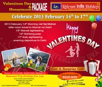 Valentinesday Tours Packages