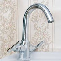 Designer Steel Basin Mixer