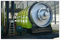 New Design Waste Tyre Pyrolysis Plant