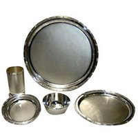 Attractive Silver Dinner Set