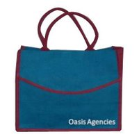 Decorative Jute Shopping Bags