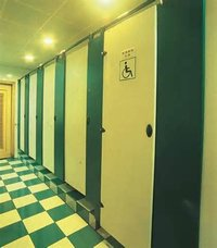 Toilet Cubicles (Nylon Series)