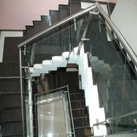 Stylish Stainless Steel Staircase Railing