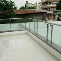 Stainless Steel Glass Balcony Grills