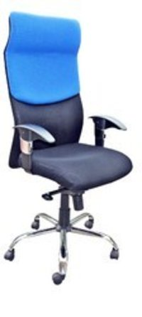 High Back Chair With Adjustable Arms