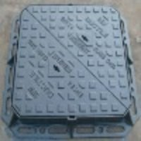 Ductile Iron GJS500-7 Hinged Triangle Manhole Cover