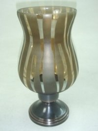 Hurricane Glass Lamp
